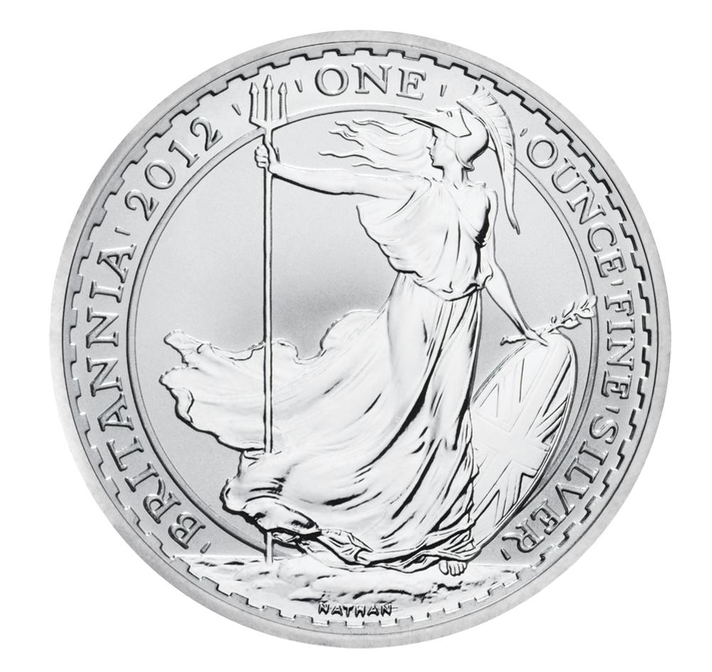 2012 1oz Silver Britannia The Uk S No 1 Silver Coins
