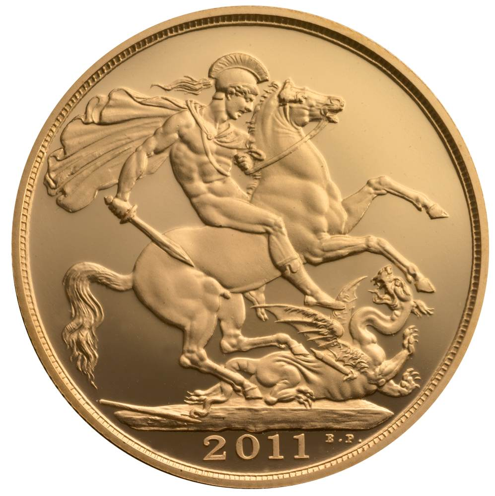 2 British Gold Coin Double Sovereign