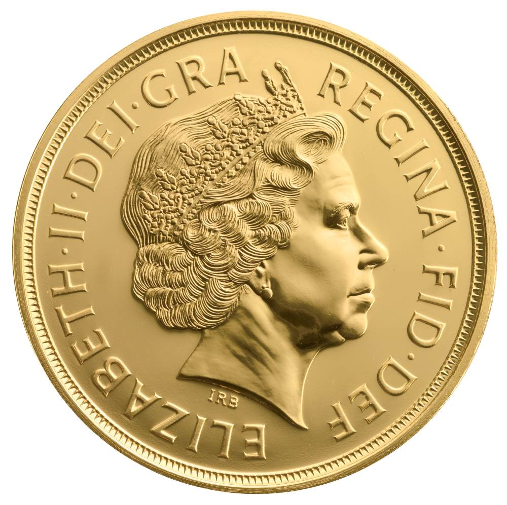 5 British Gold Coin Quintuple Sovereign