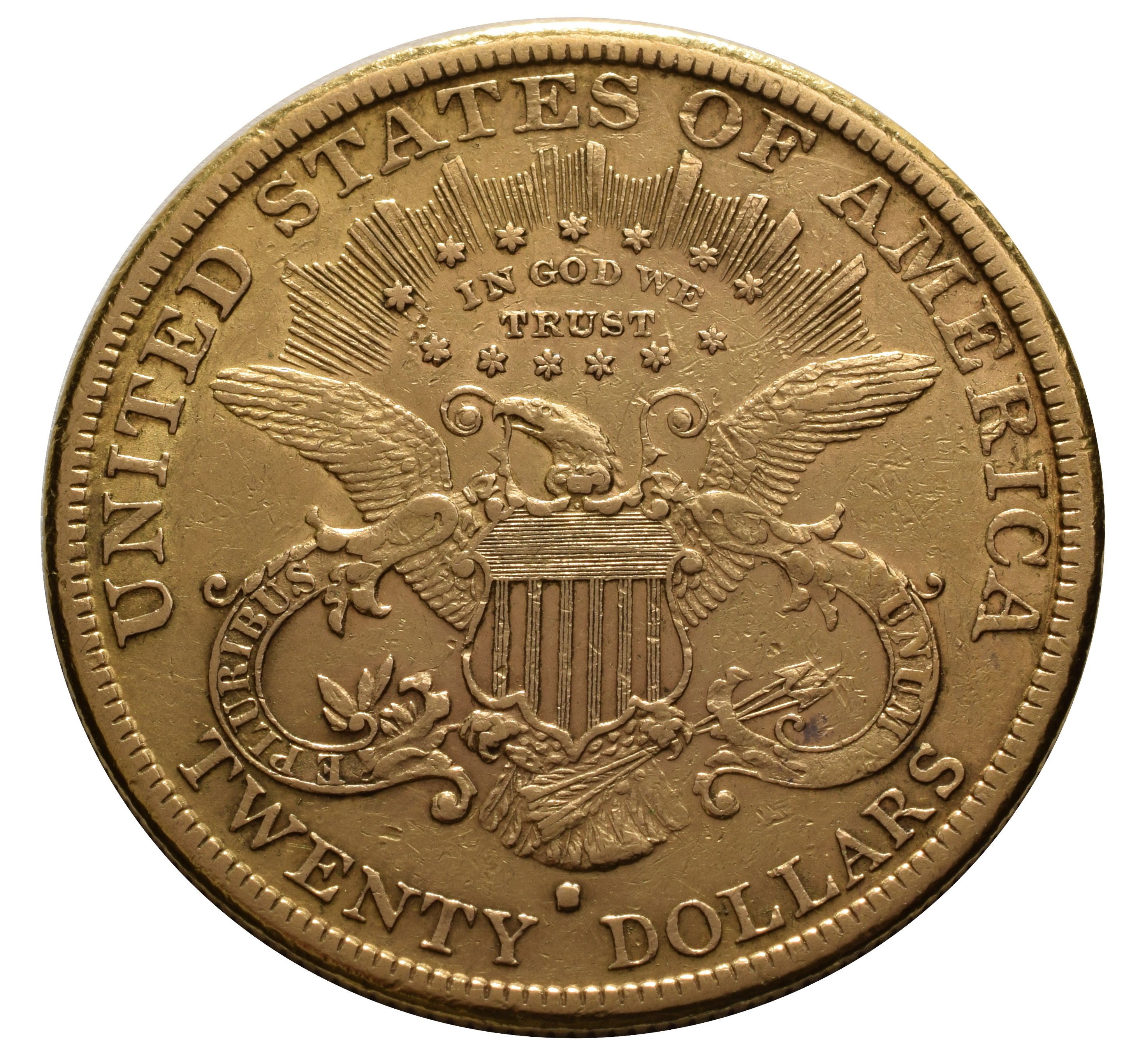 1882 20 Double Eagle Liberty Head Gold Coin San
