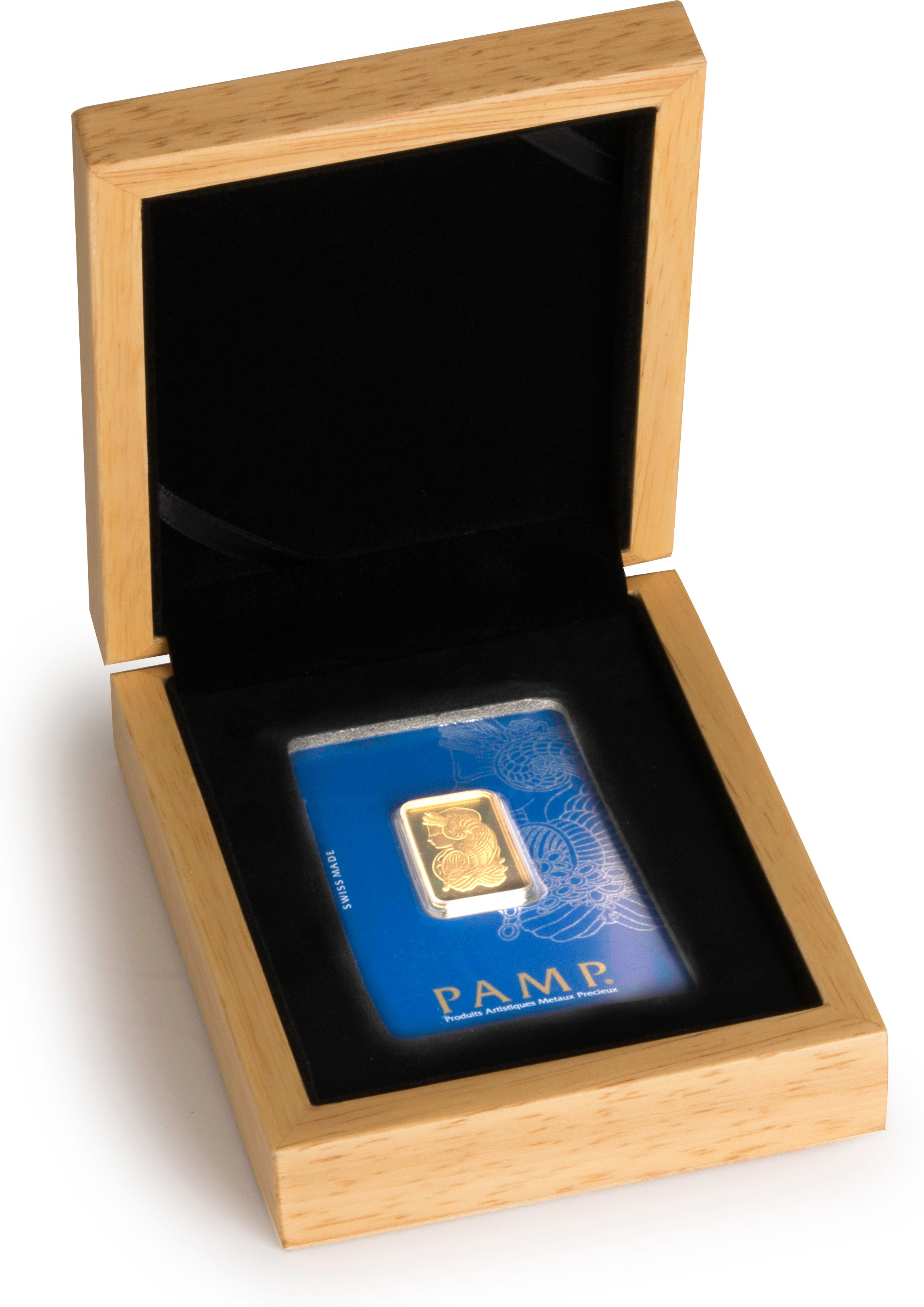 Pamp Half Ounce Gold Bar In Gift Box Bullionbypost From