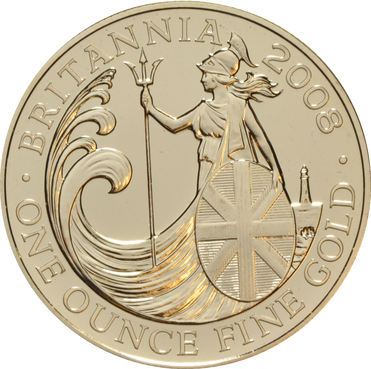 2008 Gold Britannia One Ounce Coin 1 425