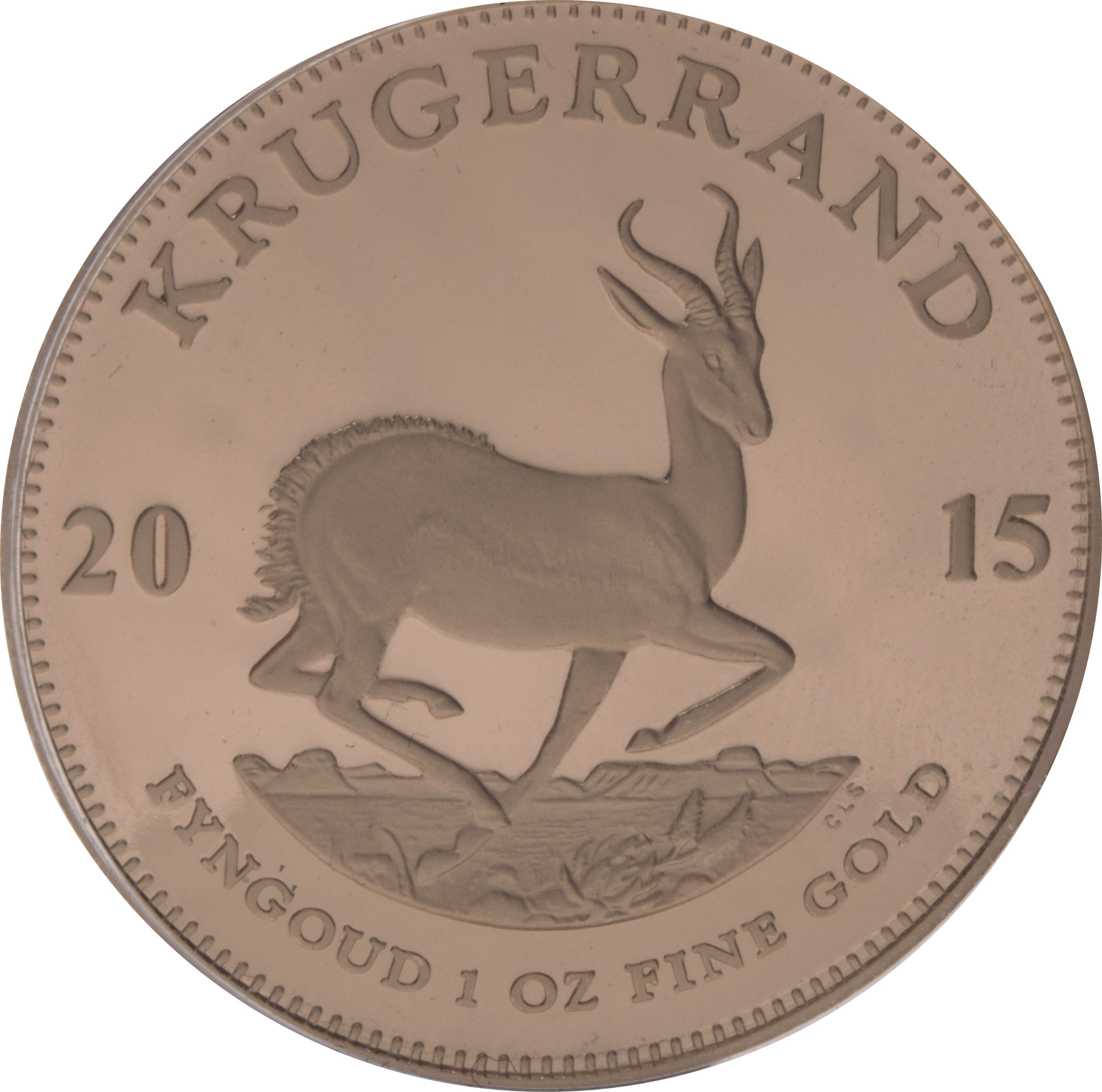 2015 1oz Gold Proof Krugerrand 1 992