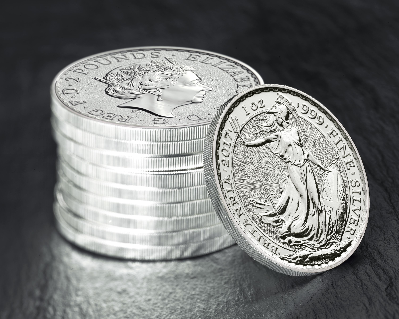 Buy 2017 Silver Britannia Bullionbypost 174 From 23 27