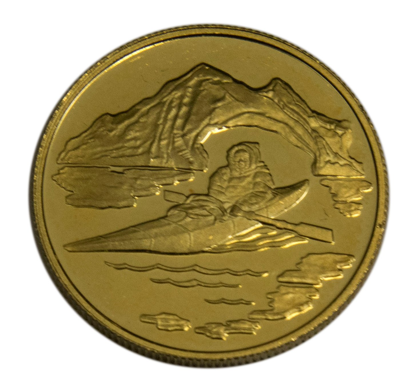 100 Canadian Gold Coin 761