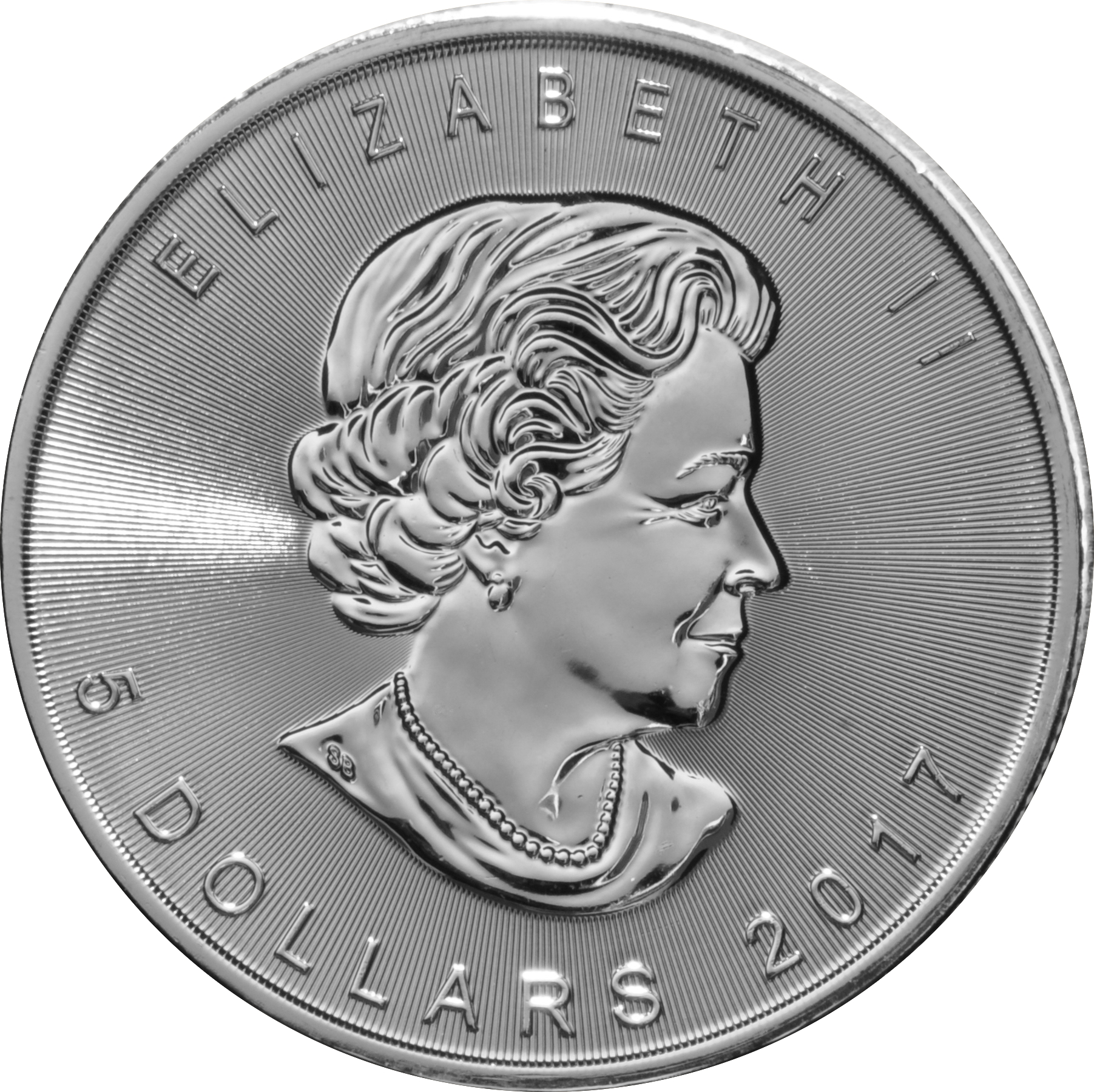 2017 1oz Canadian Maple Silver Coin 18 50
