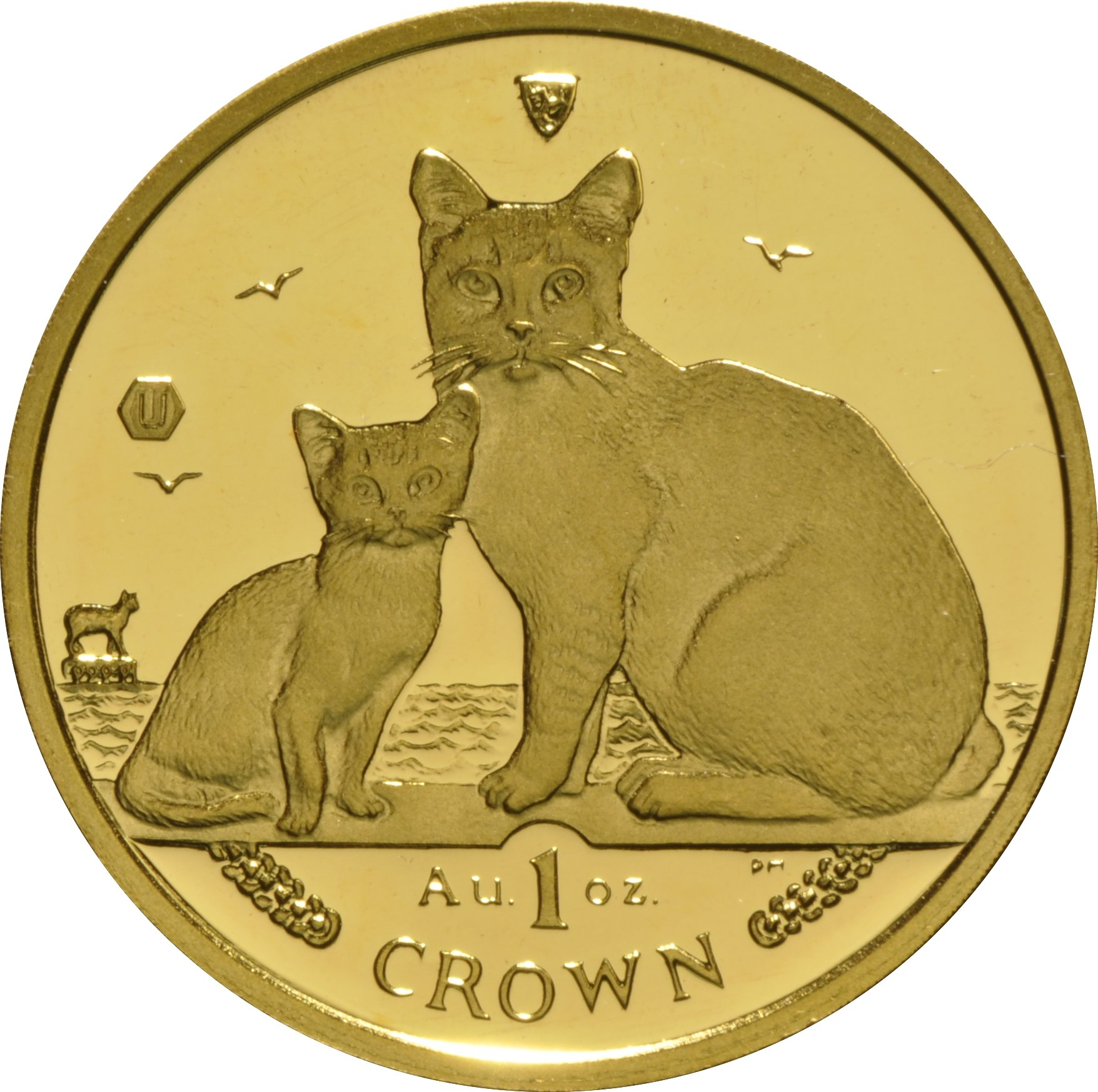 Buy 1oz Isle Of Man Gold Manx Crowns From Bullionbypost Uk From 1 646