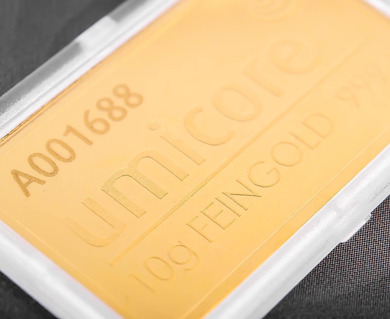 10g Umicore Gold Bars Bullionbypost From 423