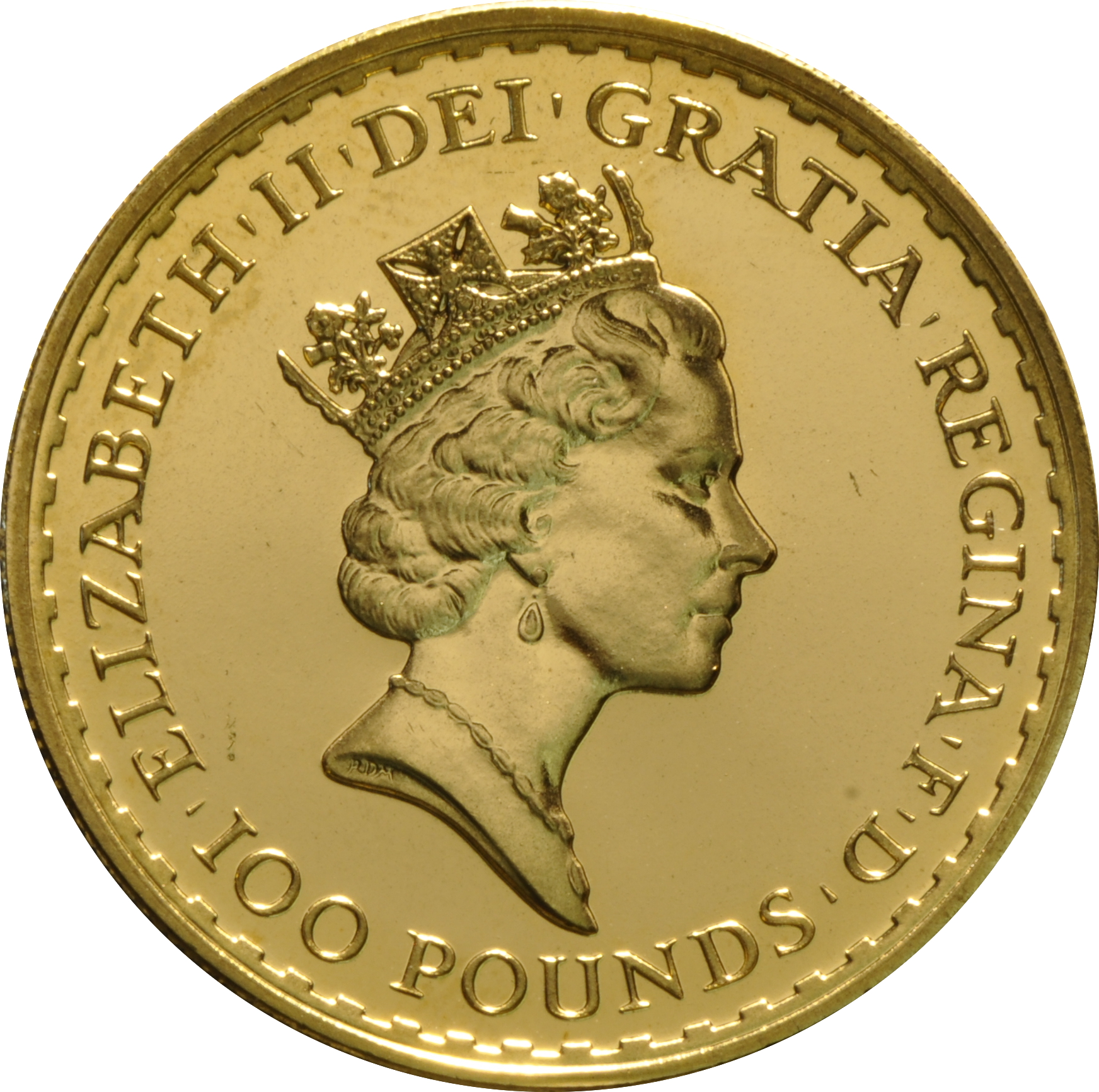 1992 Gold Britannia One Ounce Coin 1 374